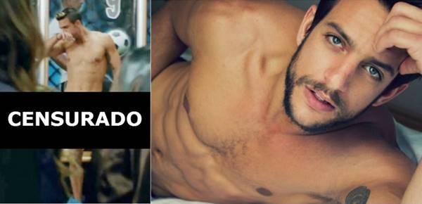 Ator Joaquin Ferreira pelado