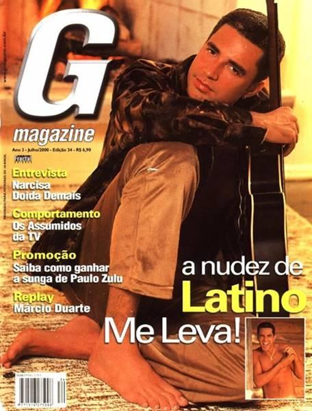 Cantor Latino Nu Em Fotos