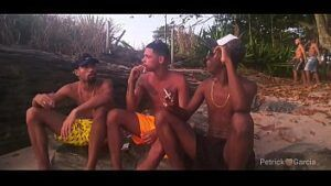 Trio de negros gostosos metendo a rola